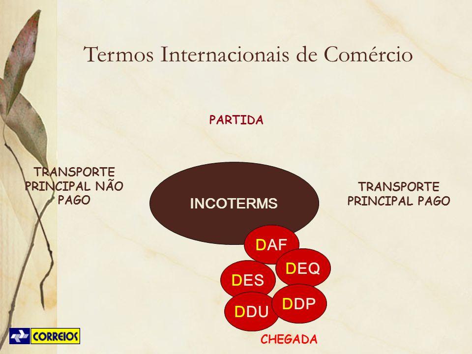 TRANSPORTE PRINCIPAL NÃO PAGO TRANSPORTE PRINCIPAL PAGO
