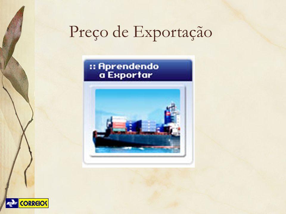 Preço de Exportação Trabalhar com o CD Aprendendo a Exportar – Simulador de Preços