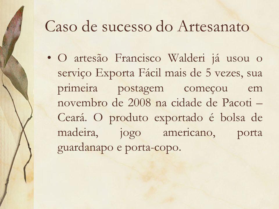 Caso de sucesso do Artesanato