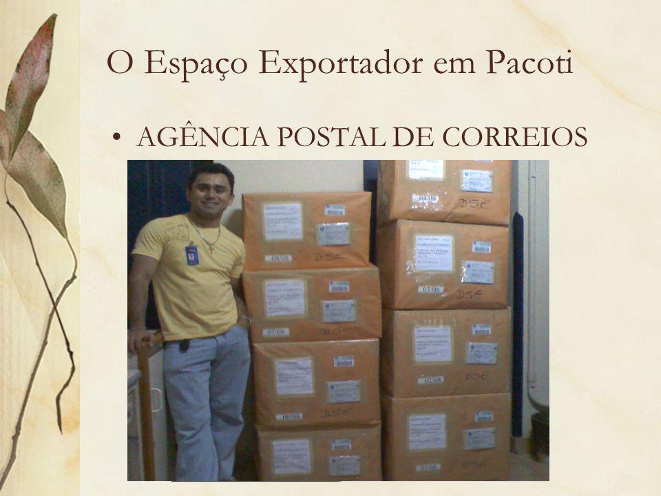 O Espaço Exportador em Pacoti