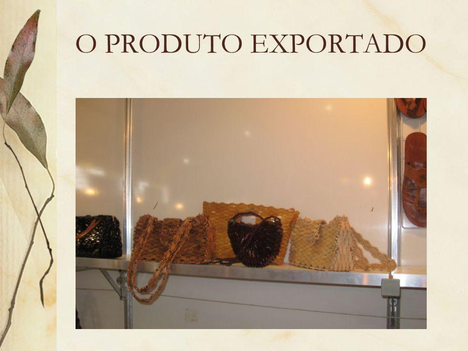 O PRODUTO EXPORTADO