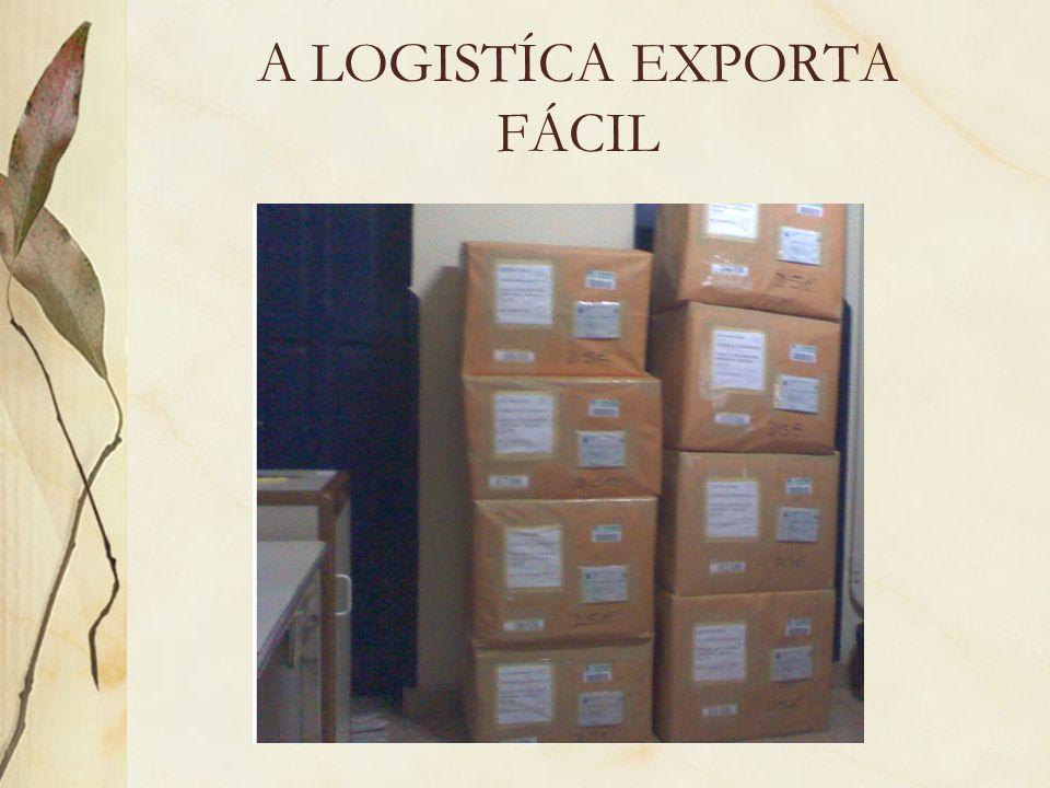 A LOGISTÍCA EXPORTA FÁCIL