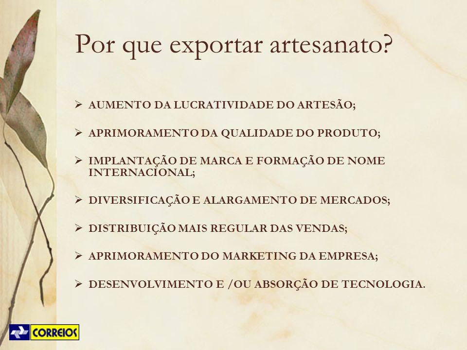 Por que exportar artesanato