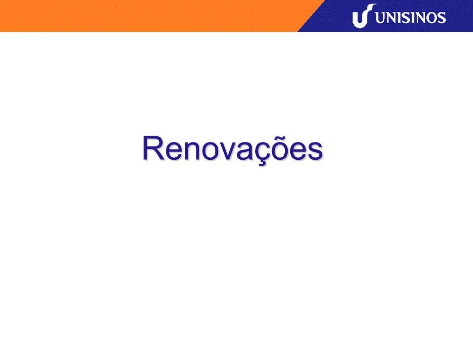 Renovações