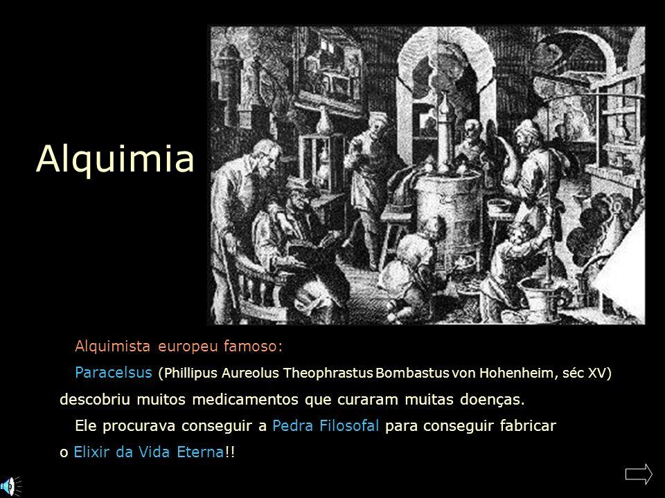 Alquimia Alquimista europeu famoso: