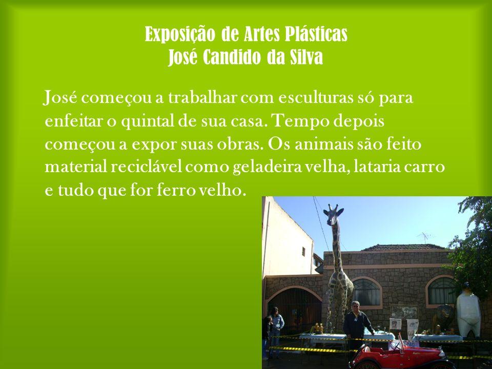 Exposição de Artes Plásticas José Candido da Silva