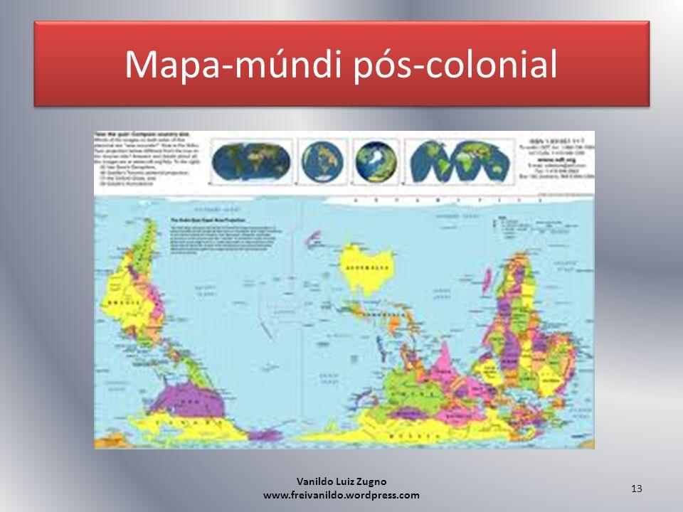 Mapa-múndi pós-colonial