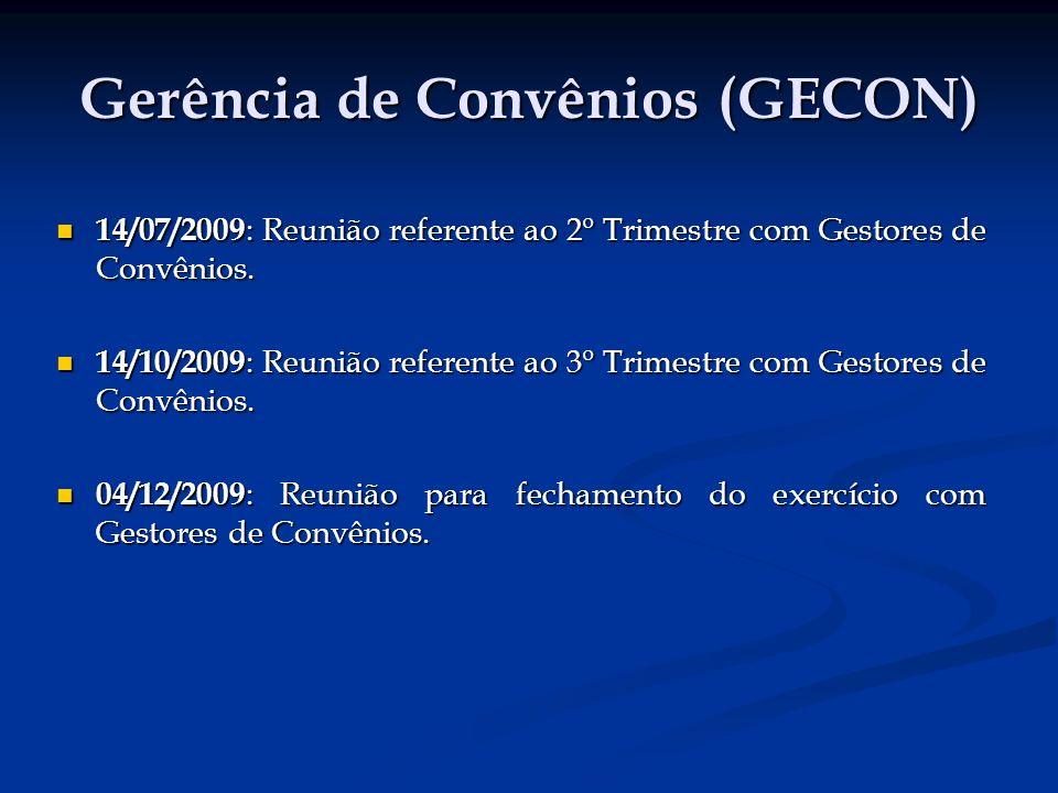 Gerência de Convênios (GECON)