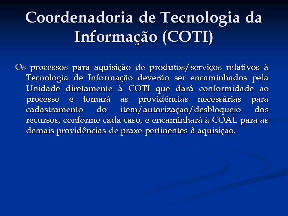 Coordenadoria de Tecnologia da Informação (COTI)