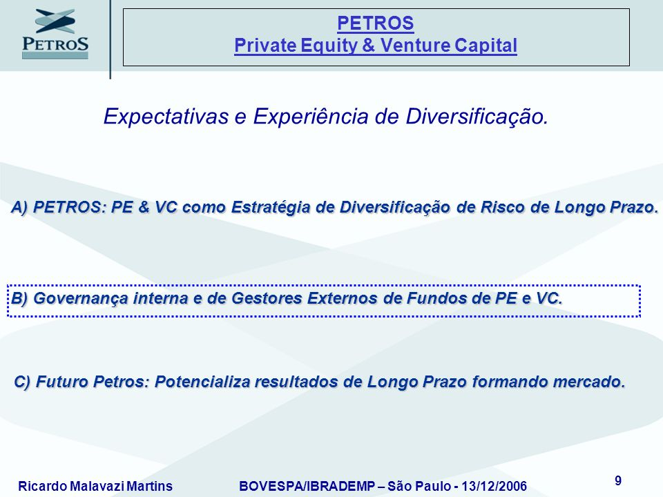 PETROS Private Equity & Venture Capital