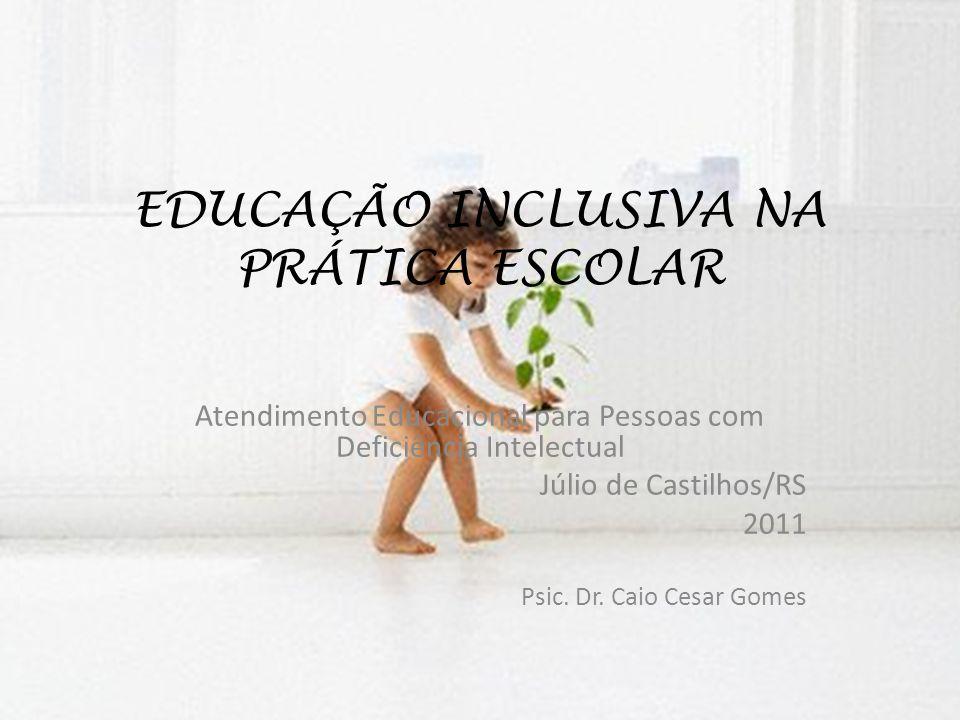 EDUCAÇÃO INCLUSIVA NA PRÁTICA ESCOLAR