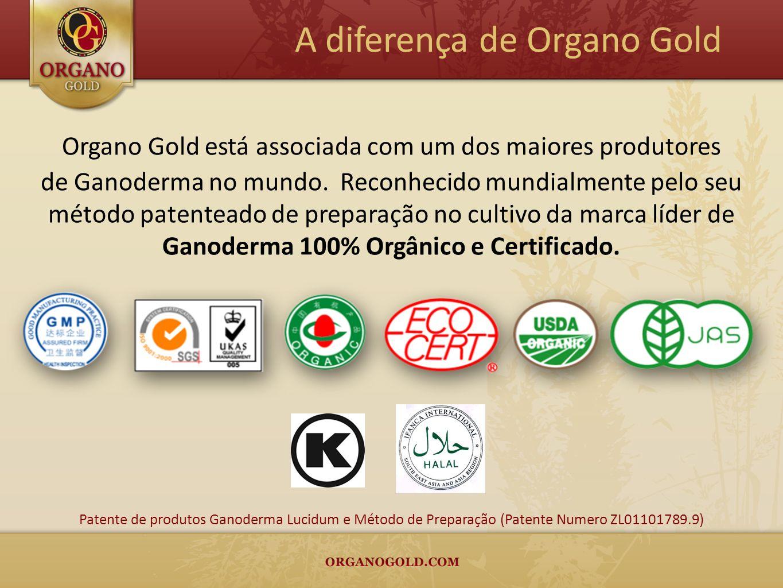 Organo Gold está associada com um dos maiores produtores