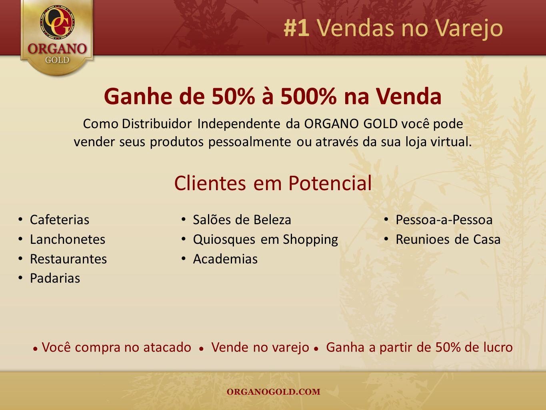 #1 Vendas no Varejo Ganhe de 50% à 500% na Venda Clientes em Potencial