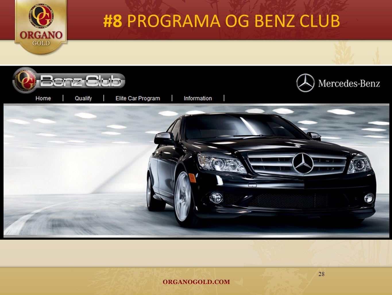 #8 PROGRAMA OG BENZ CLUB