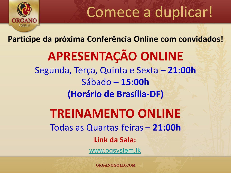 Participe da próxima Conferência Online com convidados!