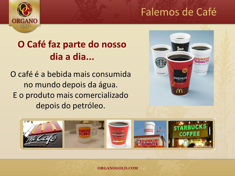 O Café faz parte do nosso dia a dia...