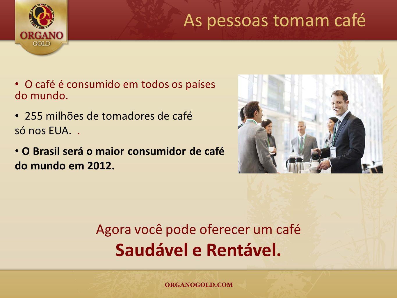 Agora você pode oferecer um café