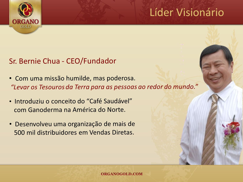 Líder Visionário Sr. Bernie Chua - CEO/Fundador