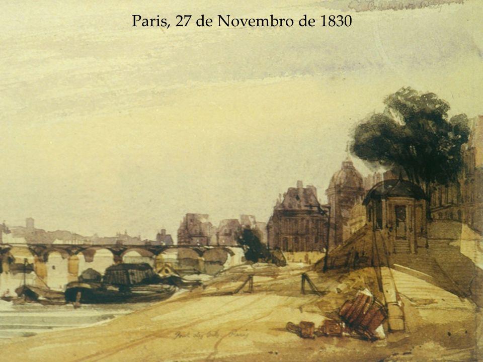 Paris, 27 de Novembro de 1830