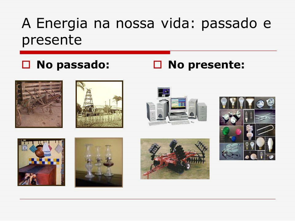A Energia na nossa vida: passado e presente