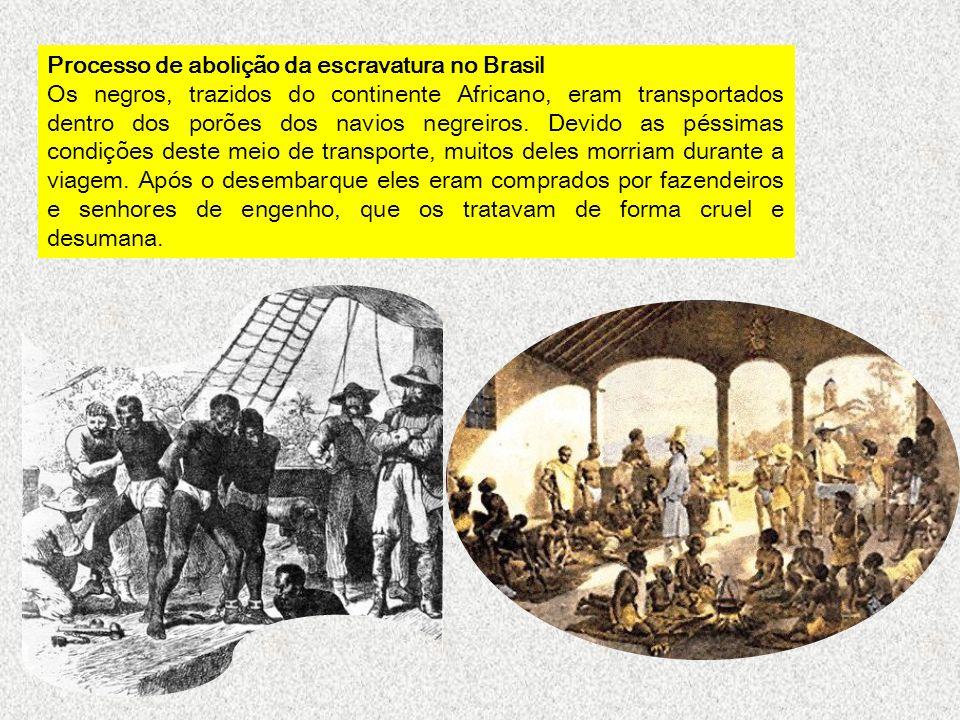 Processo de abolição da escravatura no Brasil