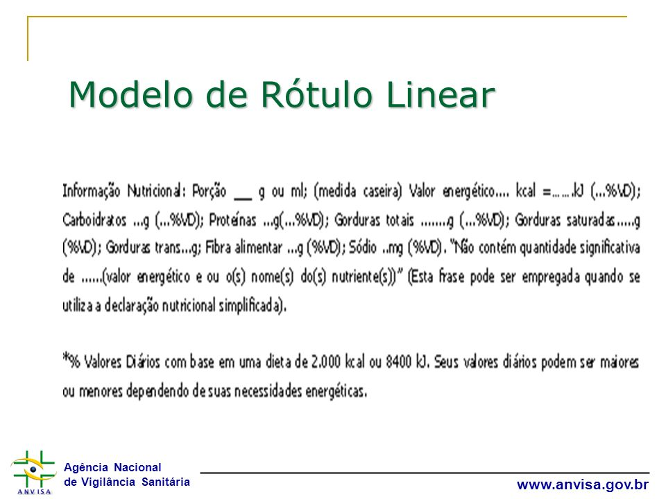 Modelo de Rótulo Linear