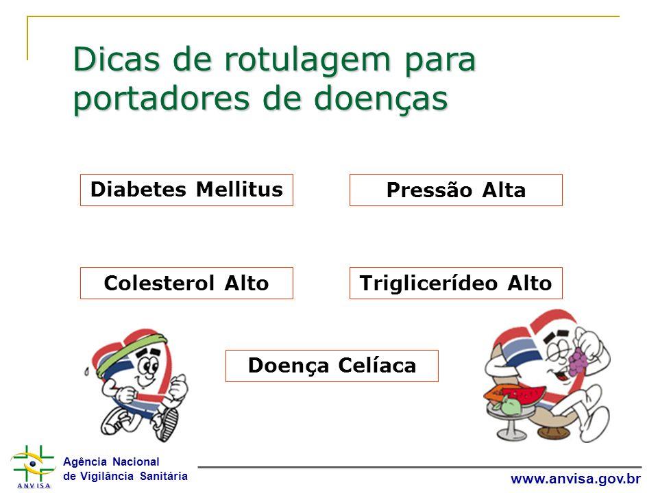 Dicas de rotulagem para portadores de doenças