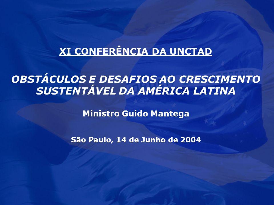 OBSTÁCULOS E DESAFIOS AO CRESCIMENTO SUSTENTÁVEL DA AMÉRICA LATINA