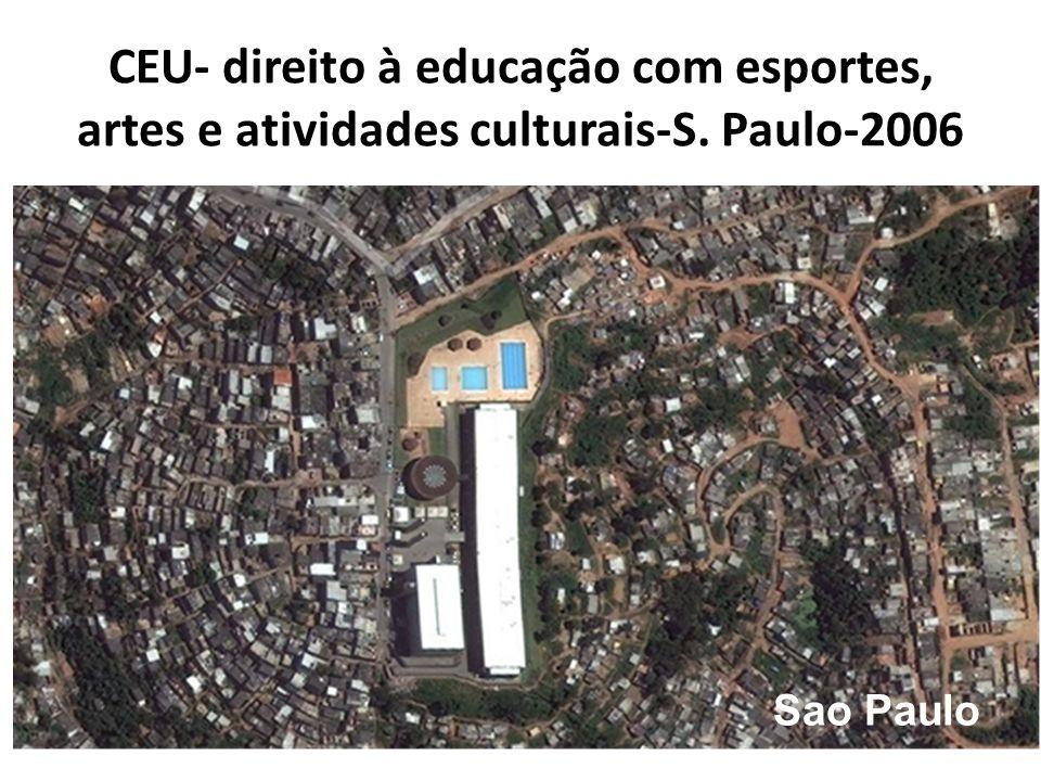 CEU- direito à educação com esportes, artes e atividades culturais-S