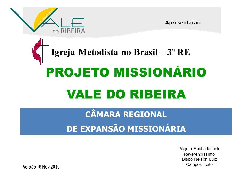 DE EXPANSÃO MISSIONÁRIA