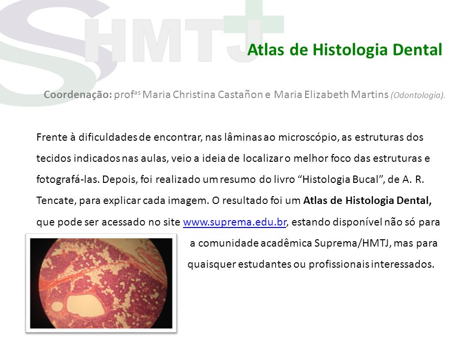Atlas de Histologia Dental