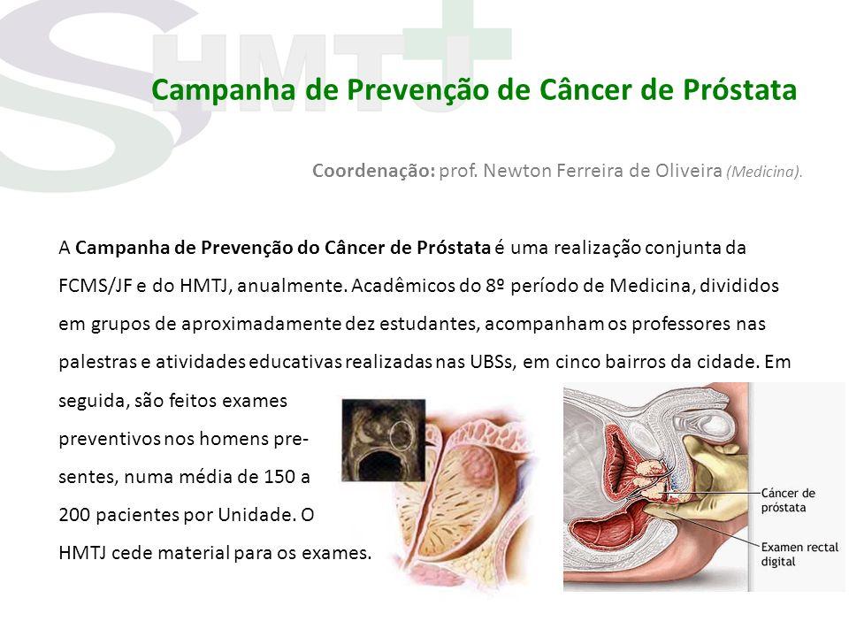 Campanha de Prevenção de Câncer de Próstata