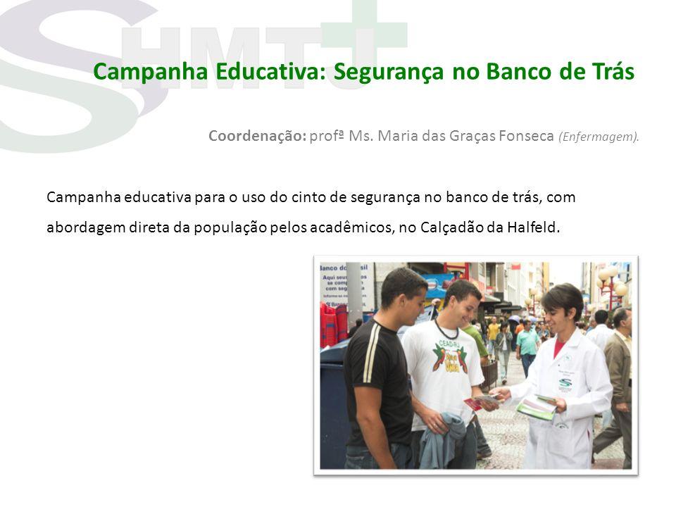 Campanha Educativa: Segurança no Banco de Trás