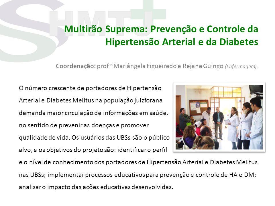 Multirão Suprema: Prevenção e Controle da Hipertensão Arterial e da Diabetes