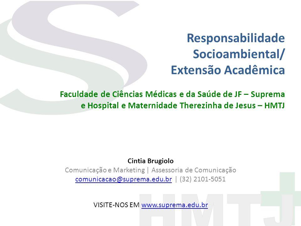 Responsabilidade Socioambiental/ Extensão Acadêmica