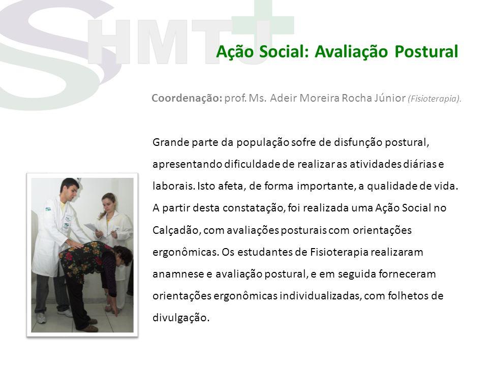 Ação Social: Avaliação Postural
