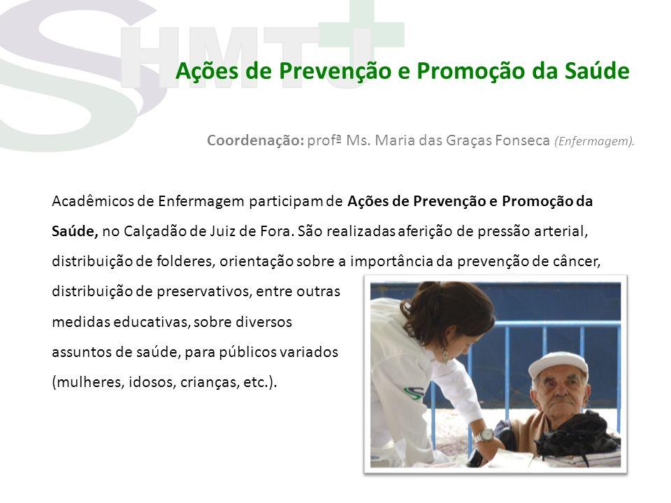 Ações de Prevenção e Promoção da Saúde