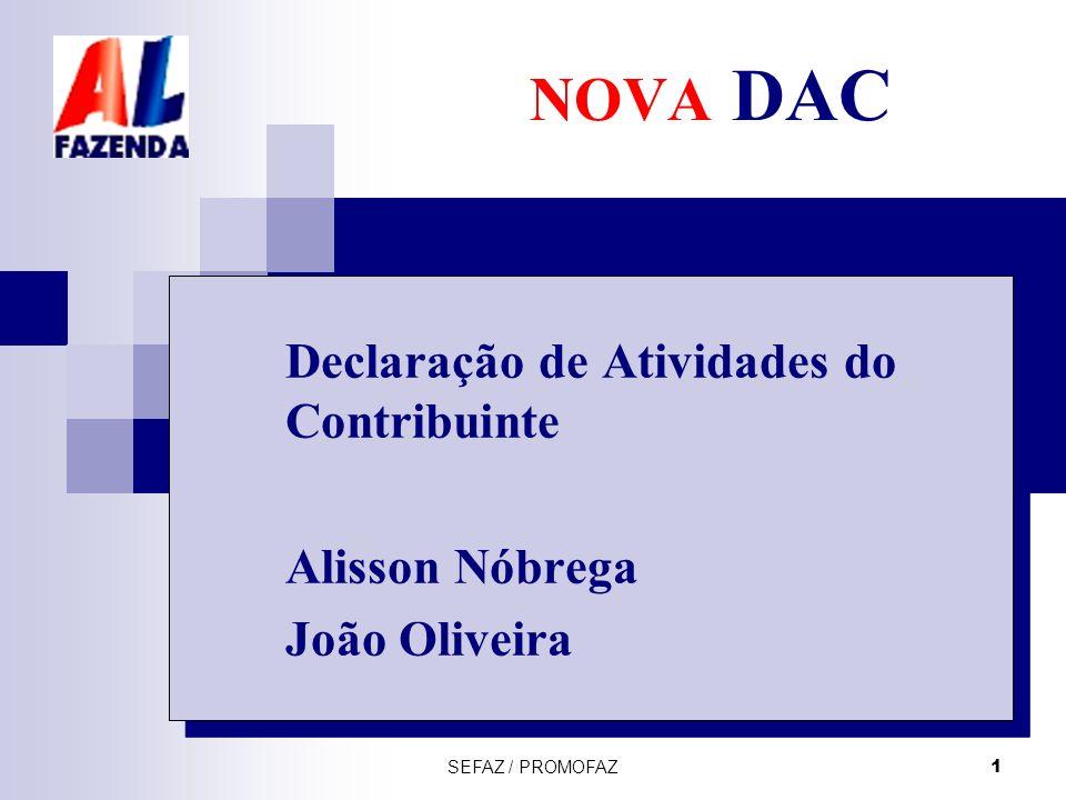 Declaração de Atividades do Contribuinte Alisson Nóbrega João Oliveira