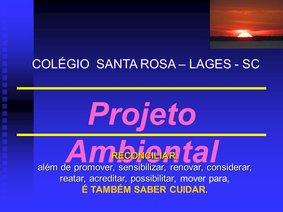 COLÉGIO SANTA ROSA – LAGES - SC