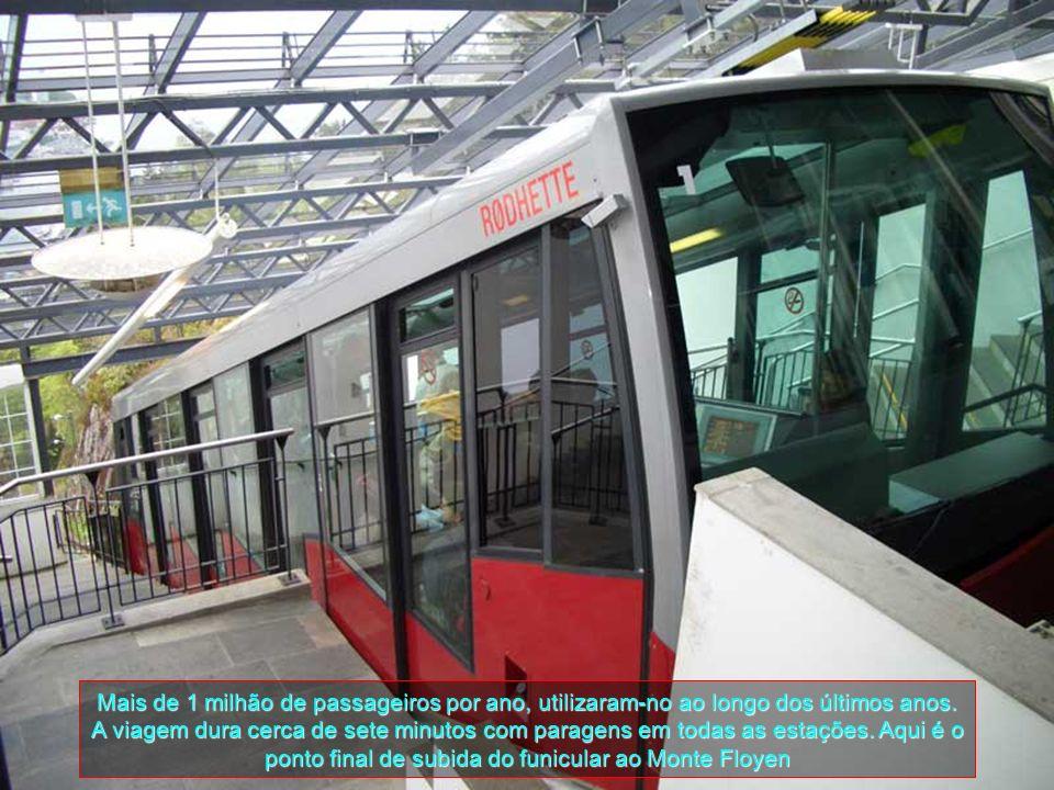 Mais de 1 milhão de passageiros por ano, utilizaram-no ao longo dos últimos anos.