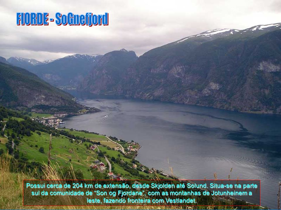 FIORDE - SoGnefjord