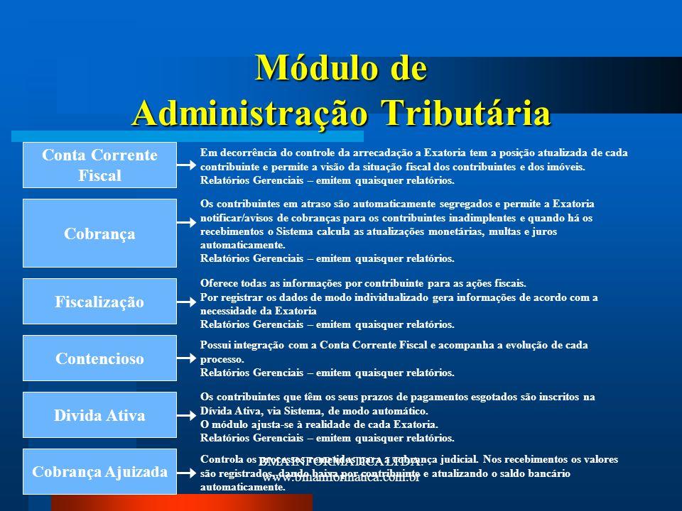 Módulo de Administração Tributária