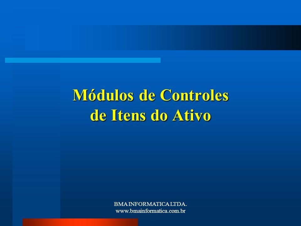 Módulos de Controles de Itens do Ativo