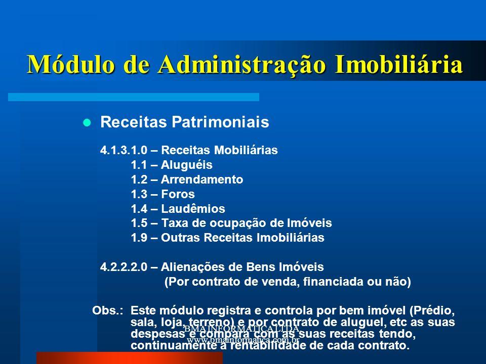 Módulo de Administração Imobiliária