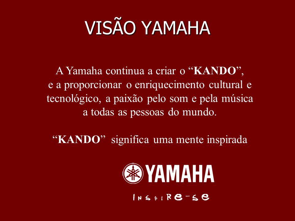 VISÃO YAMAHA A Yamaha continua a criar o KANDO ,