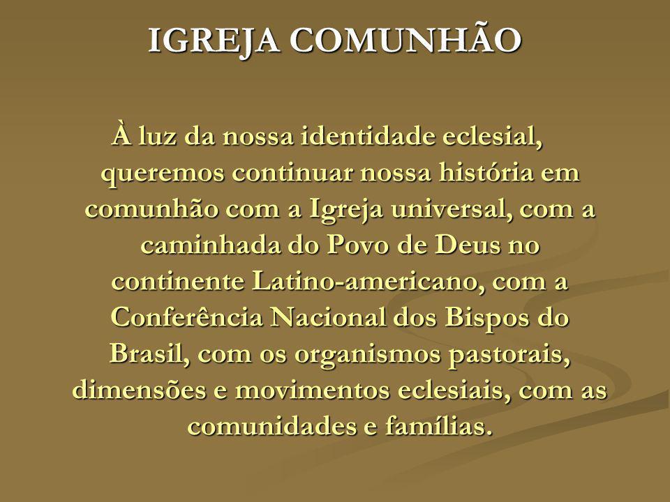 IGREJA COMUNHÃO