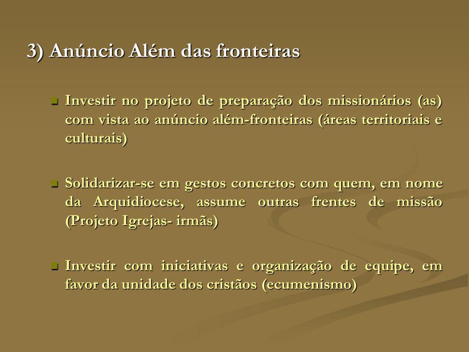 3) Anúncio Além das fronteiras