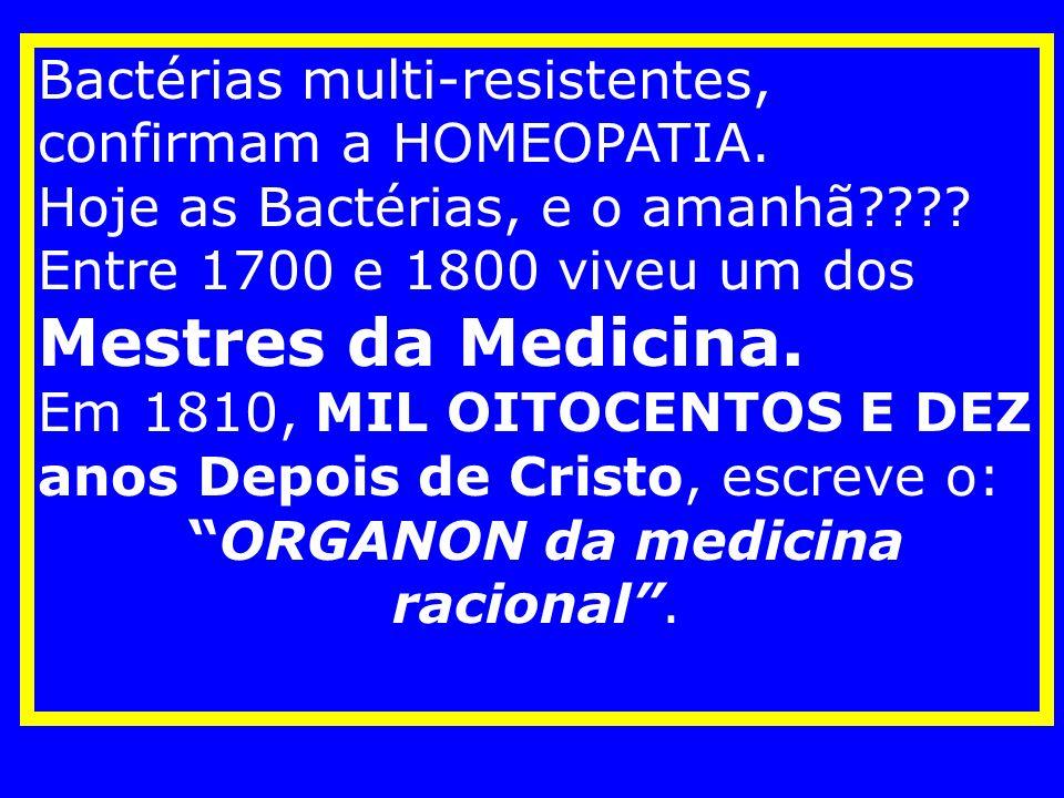 ORGANON da medicina racional .