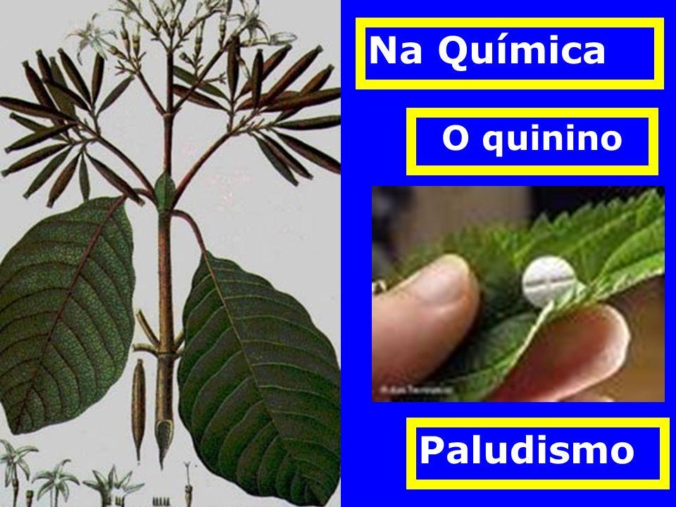 Na Química O quinino Paludismo