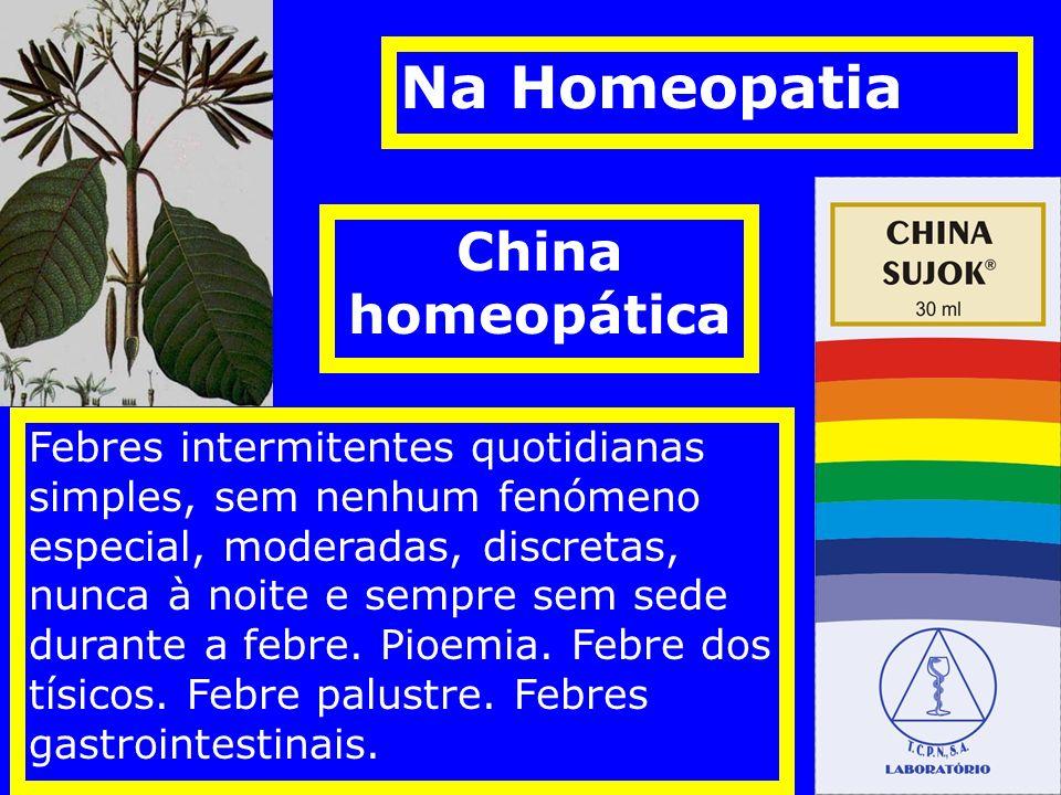 Na Homeopatia China homeopática